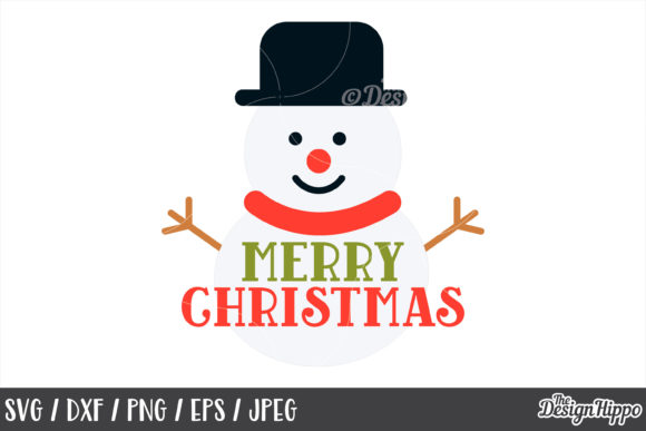 Merry Christmas SVG Bundle Graphic By thedesignhippo Image 7