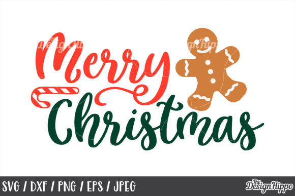 Merry Christmas SVG Bundle Graphic By thedesignhippo Image 10