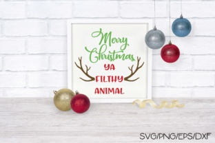 Merry Christmas Ya Filthy Animal Graphic By Sheryl Holst
