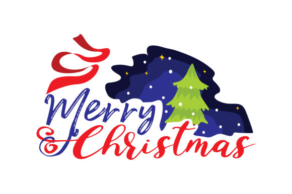 Print on Demand: Merry Christmas Graphic Crafts By TheLucky