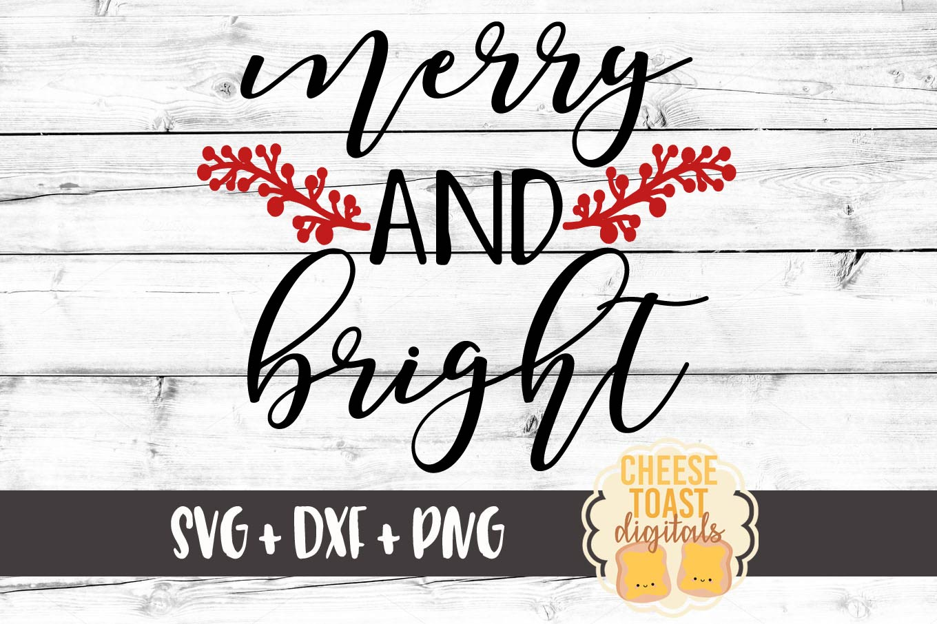 Download Free Merry And Bright Christmas Svg Filec Graphic By for Cricut Explore, Silhouette and other cutting machines.