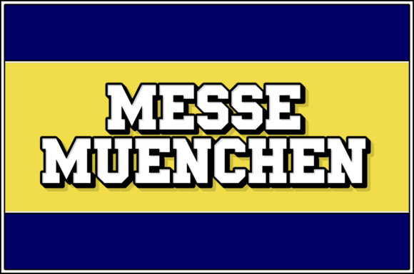 Print on Demand: Messe Muenchen Serif Font By Chequered Ink