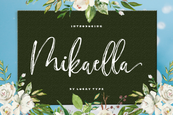 Mikaella Font By luckytype.font Image 1