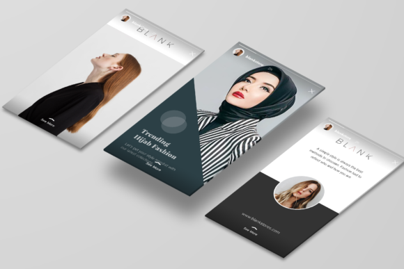 Print on Demand: Minimal Social Packs V. 01 Graphic Presentation Templates By onetype - Image 10