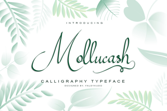 Print on Demand: Mollucash Script & Handwritten Font By kudocreative