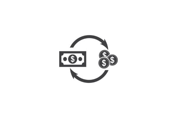 Download Free Money Convert Icon Graphic By Sabavector Creative Fabrica SVG Cut Files