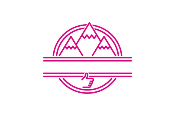 Download Free Mountain Adventure Logo Graphic By Yahyaanasatokillah Creative for Cricut Explore, Silhouette and other cutting machines.