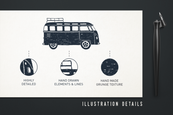 Print on Demand: Mr.Hipster. 37 Hand Drawn Objects Graphic Objects By Cosmic Store - Image 3