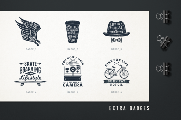 Print on Demand: Mr.Hipster. 37 Hand Drawn Objects Graphic Objects By Cosmic Store - Image 8