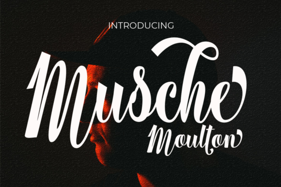 Print on Demand: Musche Moulton Script Script & Handwritten Font By Aqeela Studio