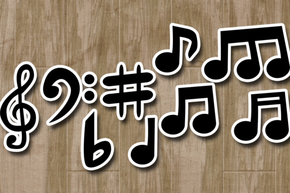 Music Notes Graphic By Revidevi Image 3