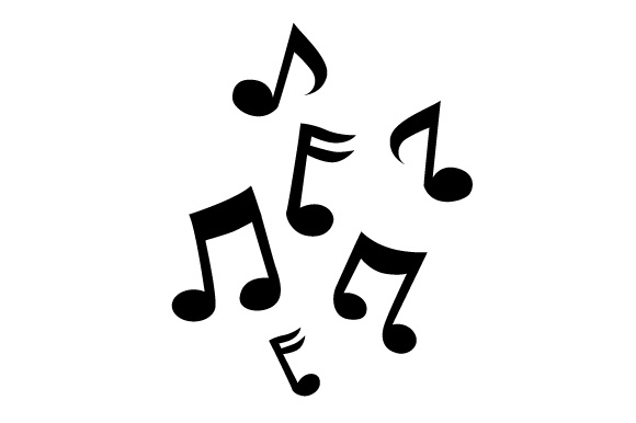 Download Free Music Notes Svg Cut File By Creative Fabrica Crafts Creative for Cricut Explore, Silhouette and other cutting machines.