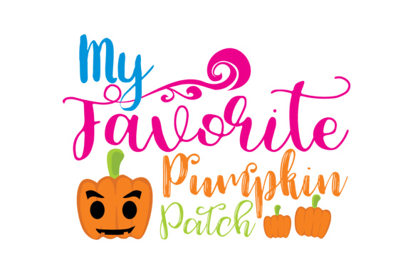 Print on Demand: My Favorite Pumpkin Pitch Graphic Crafts By TheLucky
