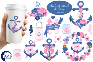 Download Free Nautical Beach Clipart Graphic By Ambillustrations Creative for Cricut Explore, Silhouette and other cutting machines.