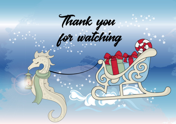 Print on Demand: CHRISTMAS MERMAID Vector Illustration Set Graphic Illustrations By FARAWAYKINGDOM - Image 14