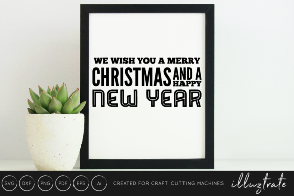 New Years 2019 SVG Cut File Design Bundle Graphic By illuztrate Image 14
