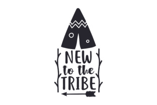 New to the Tribe Craft Design By Creative Fabrica Crafts