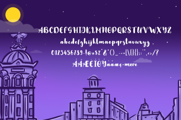 Night in Madrid Font By suzurantype Image 5