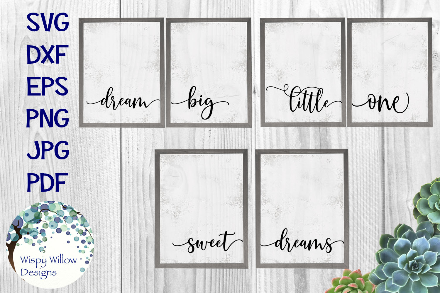 Download Free Nursery Bundle Graphic By Wispywillowdesigns Creative Fabrica for Cricut Explore, Silhouette and other cutting machines.