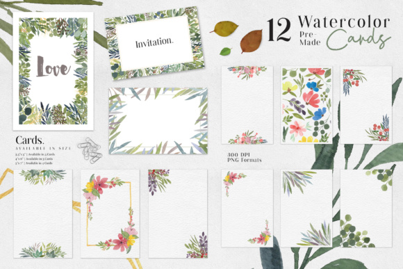 Ofi Watercolor Design Set