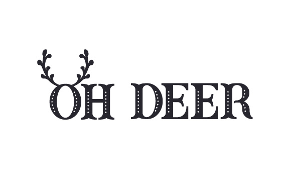 Download Free Oh Deer Svg Cut File By Creative Fabrica Crafts Creative Fabrica for Cricut Explore, Silhouette and other cutting machines.