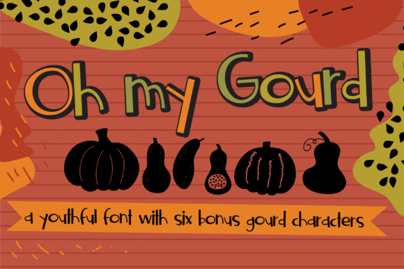 Print on Demand: Oh My Gourd Sans Serif Font By Illustration Ink