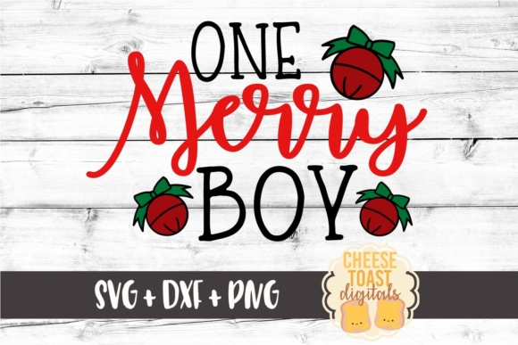 Download Free One Merry Boy Christmas Svg File Graphic By for Cricut Explore, Silhouette and other cutting machines.