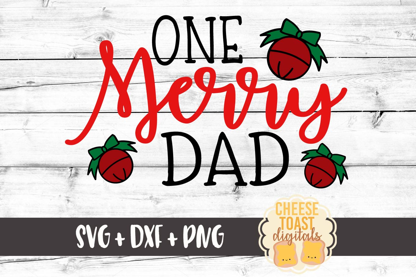 One Merry Dad Christmas Svg File Graphic By