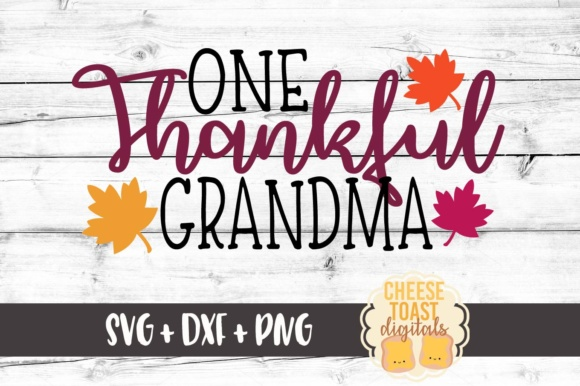 Download Free One Thankful Grandma Thanksgiving Svg File Grafico Por for Cricut Explore, Silhouette and other cutting machines.