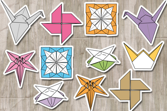 Origami Traditional Graphic By Revidevi Creative Fabrica