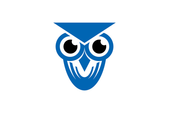 Download Free Owl Logo Graphic By Thehero Creative Fabrica for Cricut Explore, Silhouette and other cutting machines.