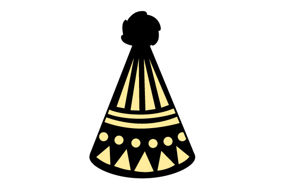 Party Hat New Year's Craft Cut File By Creative Fabrica Crafts