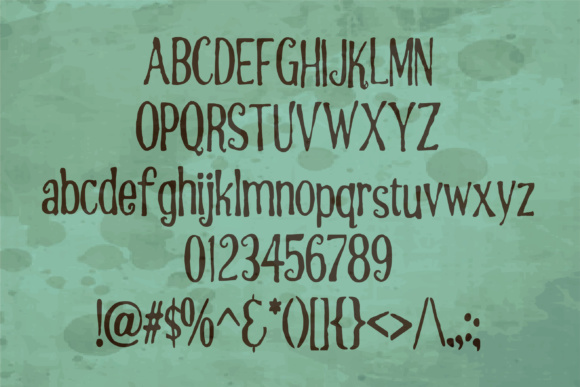 Peppermint Font By Illustration Ink Image 2