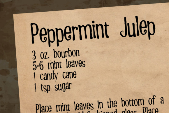 Peppermint Font By Illustration Ink Image 4