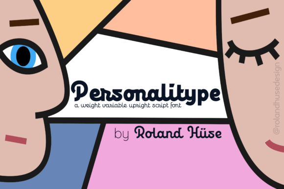 Print on Demand: Personalitype Script & Handwritten Font By Roland Hüse Design