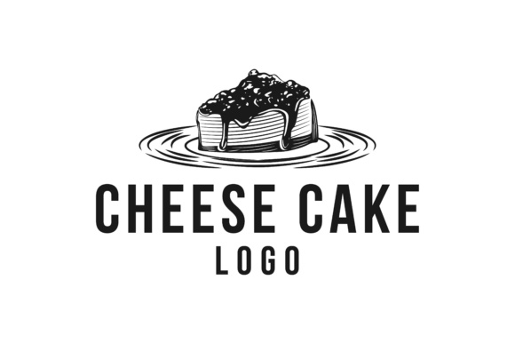 Download Free Piece Of Cheese Cake Logo Graphic By Yahyaanasatokillah for Cricut Explore, Silhouette and other cutting machines.