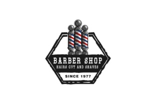 Download Free Pile Barber Pole Logo Graphic By Yahyaanasatokillah Creative Fabrica for Cricut Explore, Silhouette and other cutting machines.
