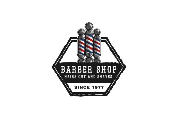 Download Free Pile Barber Pole Logo Grafico Por Yahyaanasatokillah Creative for Cricut Explore, Silhouette and other cutting machines.