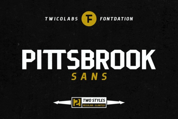 Print on Demand: Pittsbrook Sans Serif Font By Fontdation