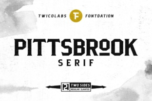 Print on Demand: Pittsbrook Serif Font By Fontdation