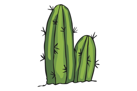 Print on Demand: Plant Cactus Graphic Illustrations By Arief Sapta Adjie