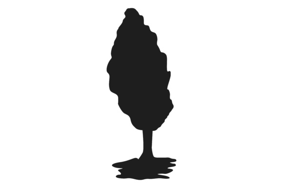 Print on Demand: Plant Tree Silhouette Graphic Illustrations By Arief Sapta Adjie