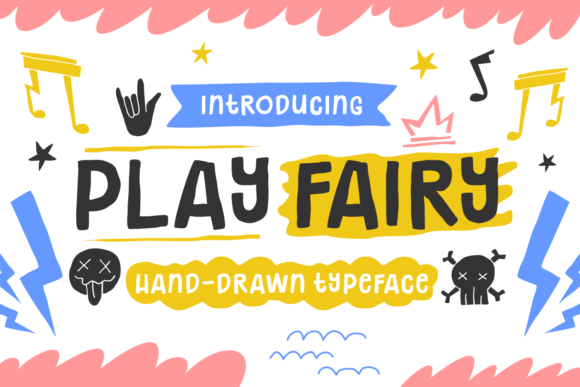Print on Demand: Play Fairy Script & Handwritten Font By Keithzo (7NTypes)