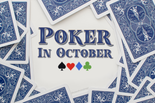 Poker in October Font By Roland Hüse