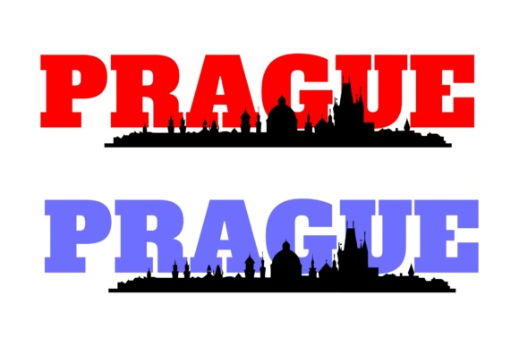 Download Free Prague Landmarks Graphic By Studio 26 Design Co Creative Fabrica for Cricut Explore, Silhouette and other cutting machines.