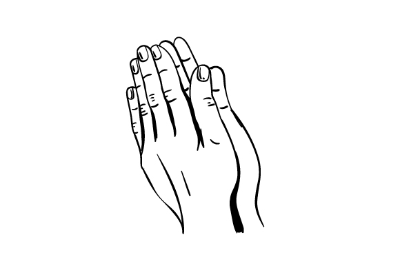 Download Free Praying Hands Svg Cut File By Creative Fabrica Crafts Creative for Cricut Explore, Silhouette and other cutting machines.