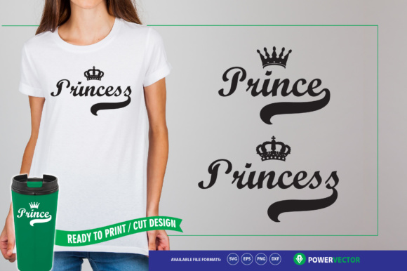 Download Free Prince Princess Crafts Making Svg Files Graphic By for Cricut Explore, Silhouette and other cutting machines.