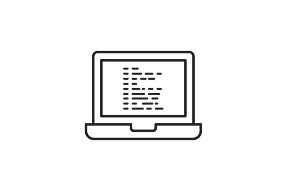 Print on Demand: Programming Graphic Icons By RE stock