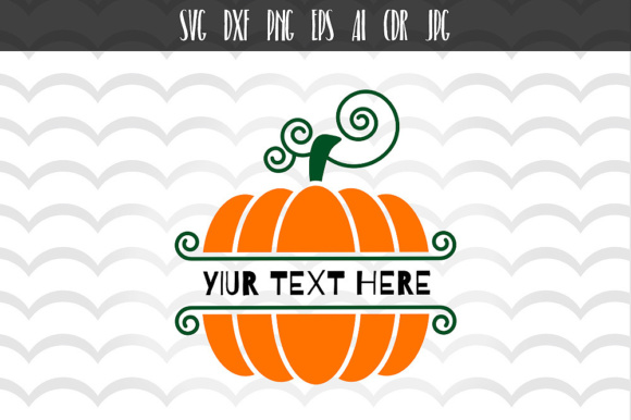 Download Free Pumpkin Halloween Monogram Svg Graphic By Vector City Skyline SVG Cut Files