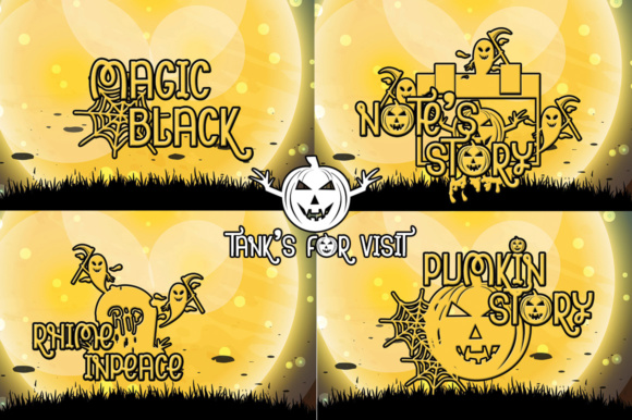 Pumpkin Hollowens Font By jehansyah251 Image 7